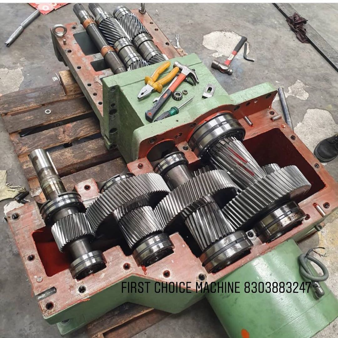 gearbox Repair Picture - First Choice Machine